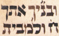 Letters in Torah fading to brown