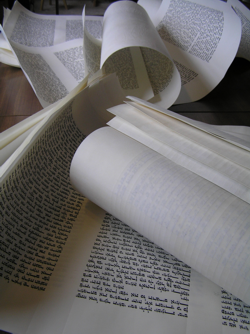 sheets of Torah