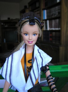 The original Tefillin Barbie